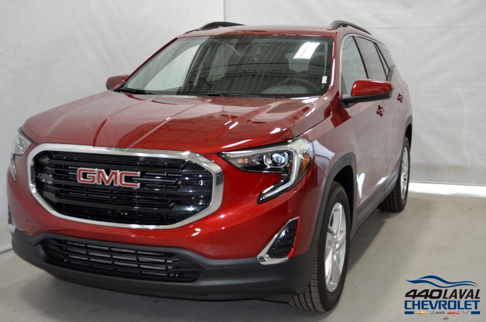 New GMC Terrain SLE, AWD 2019 Teinte rouge quartz - $36920 ...