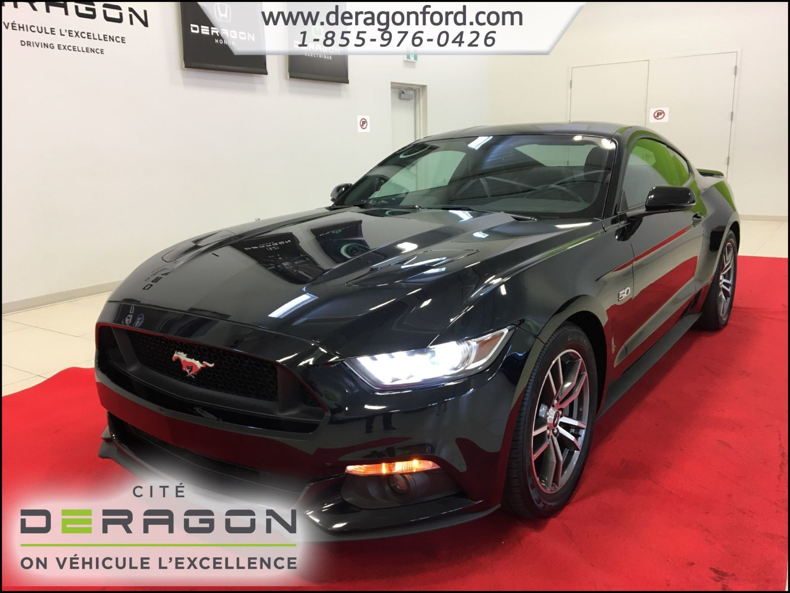 2016 ford mustang gt premium cuir nav mags 18p automatique d 39 occasion cowansville inventaire. Black Bedroom Furniture Sets. Home Design Ideas