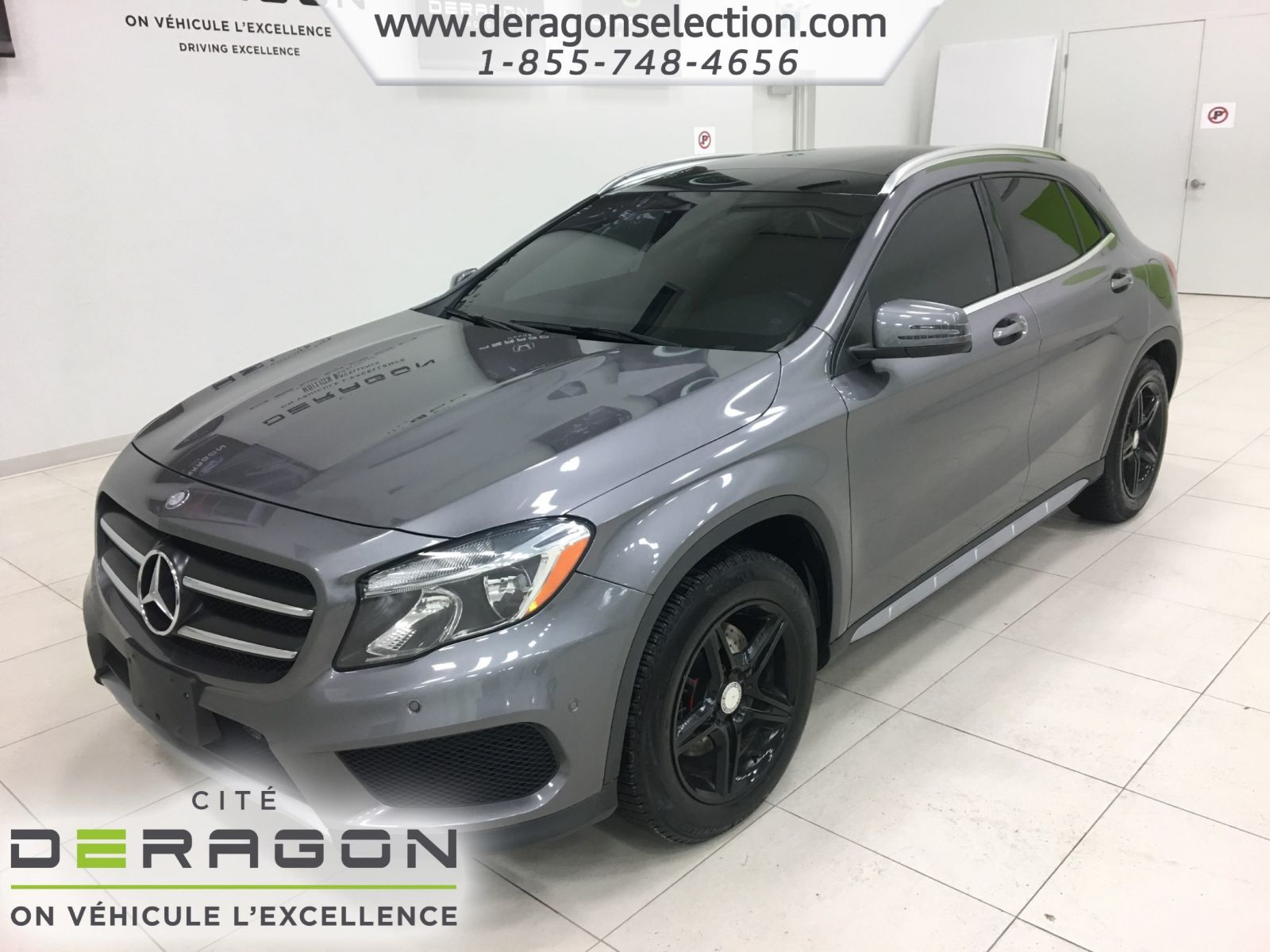 mercedes benz gla class gla 250 4matic sport pack blind spot nav 2015 d 39 occasion. Black Bedroom Furniture Sets. Home Design Ideas