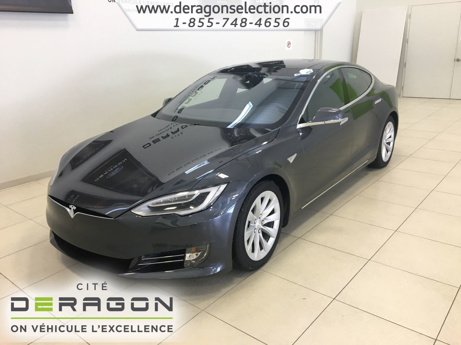 tesla model s 90d toit ouvrant autopilot gps 2016 d. Black Bedroom Furniture Sets. Home Design Ideas