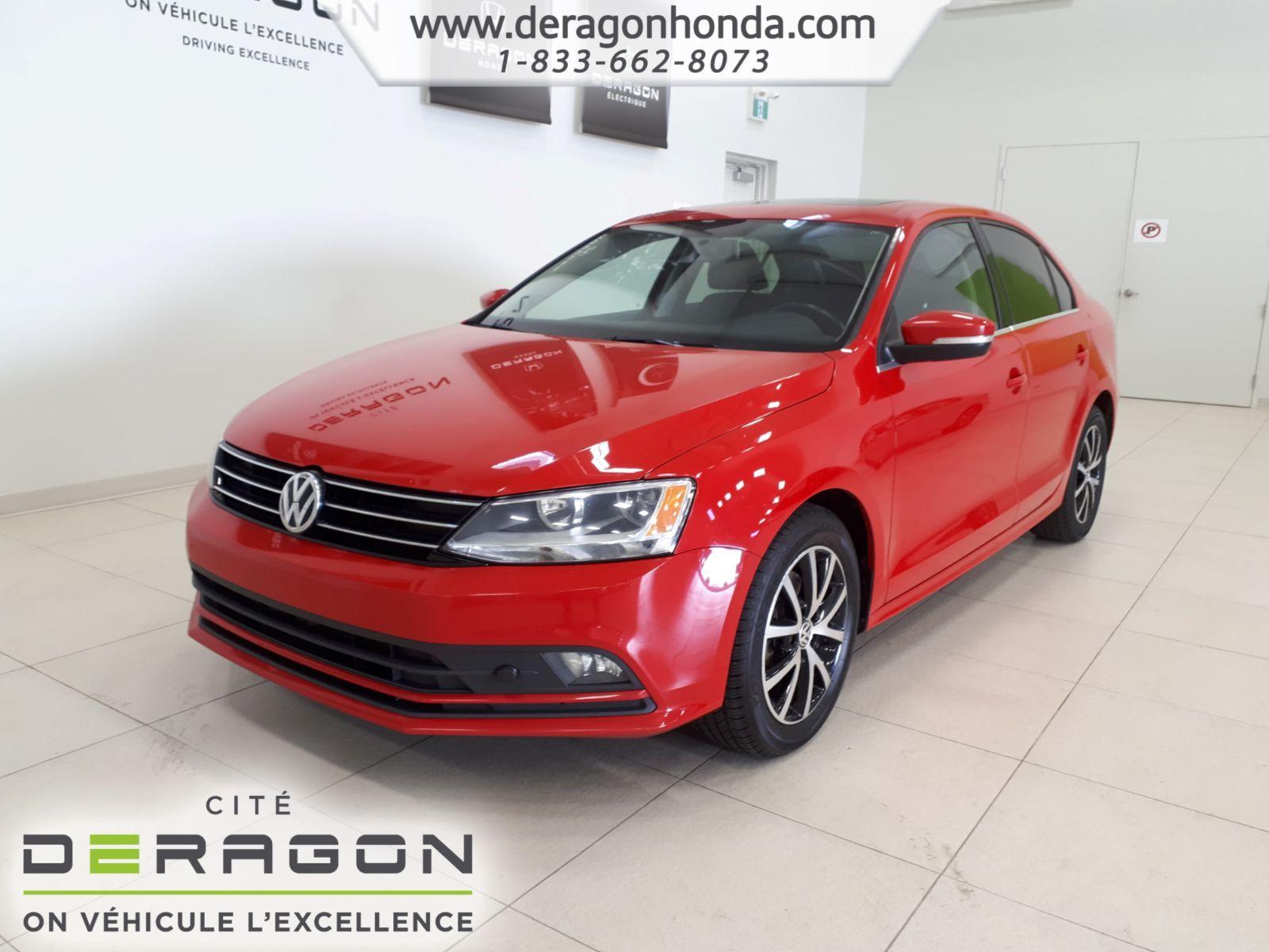 Used 2015 Volkswagen Jetta Sedan Comfortline+TDI+TOIT