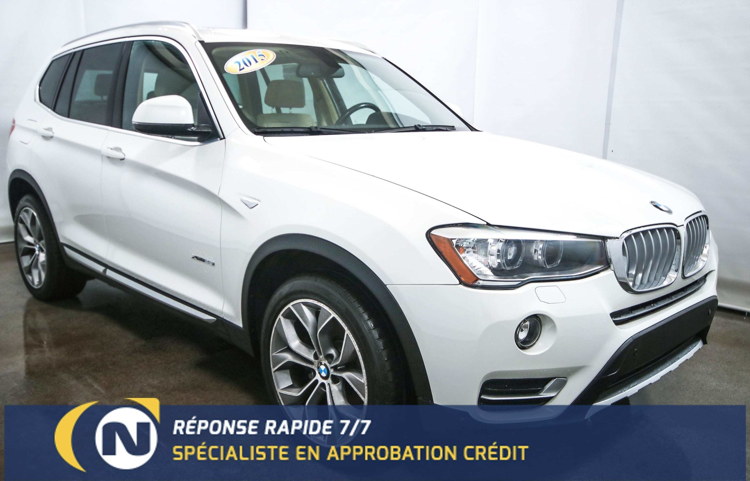 Nadeau Automobiles Pre Owned 2015 Bmw X3 Xdrive28i Toit Panoramique Camera For Sale In St Jean Sur Richelieu