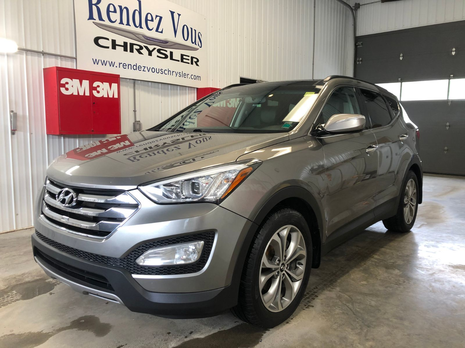 Rendez Vous Chrysler In Grand Sault And Edmunston 2014 Hyundai Santa Fe Sport Luxury 20161a