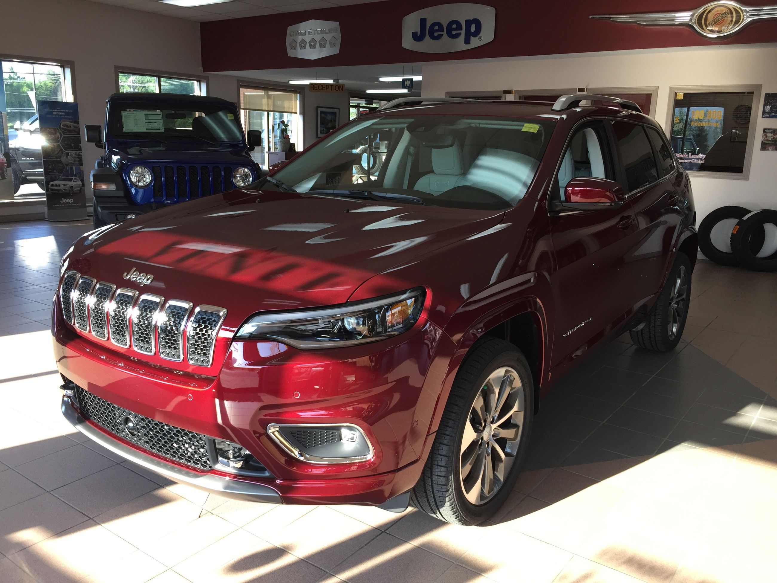 Rendez Vous Chrysler In Grand Sault And Edmunston 2019 Jeep Cherokee Overland 19275