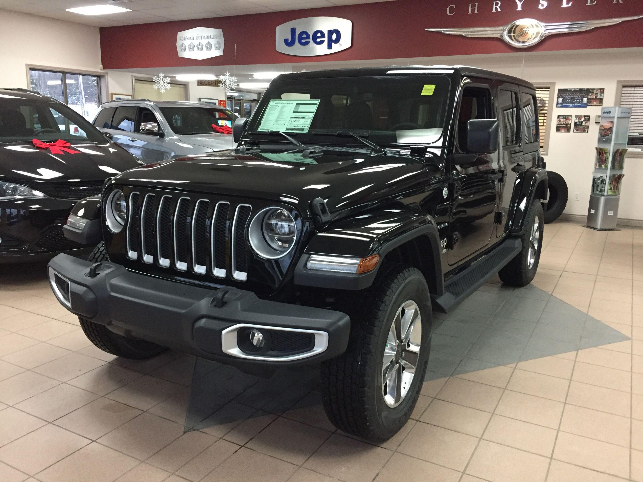 Jeep Wrangler Sahara For Sale >> New 2020 Jeep Wrangler Unlimited SAHARA for sale in - Rendez-vous Chrysler in , New Brunswick