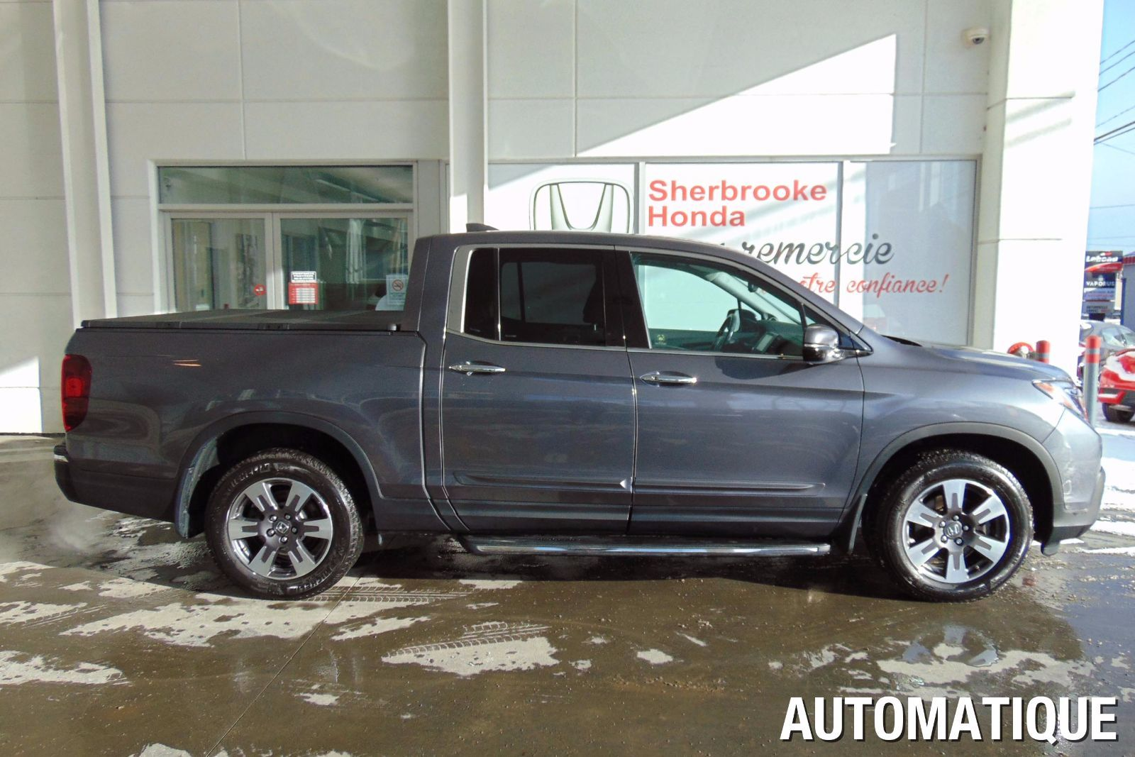 Pre Owned 2017 Honda Ridgeline Touring In Magog Boat Towing With Inventory Quebec