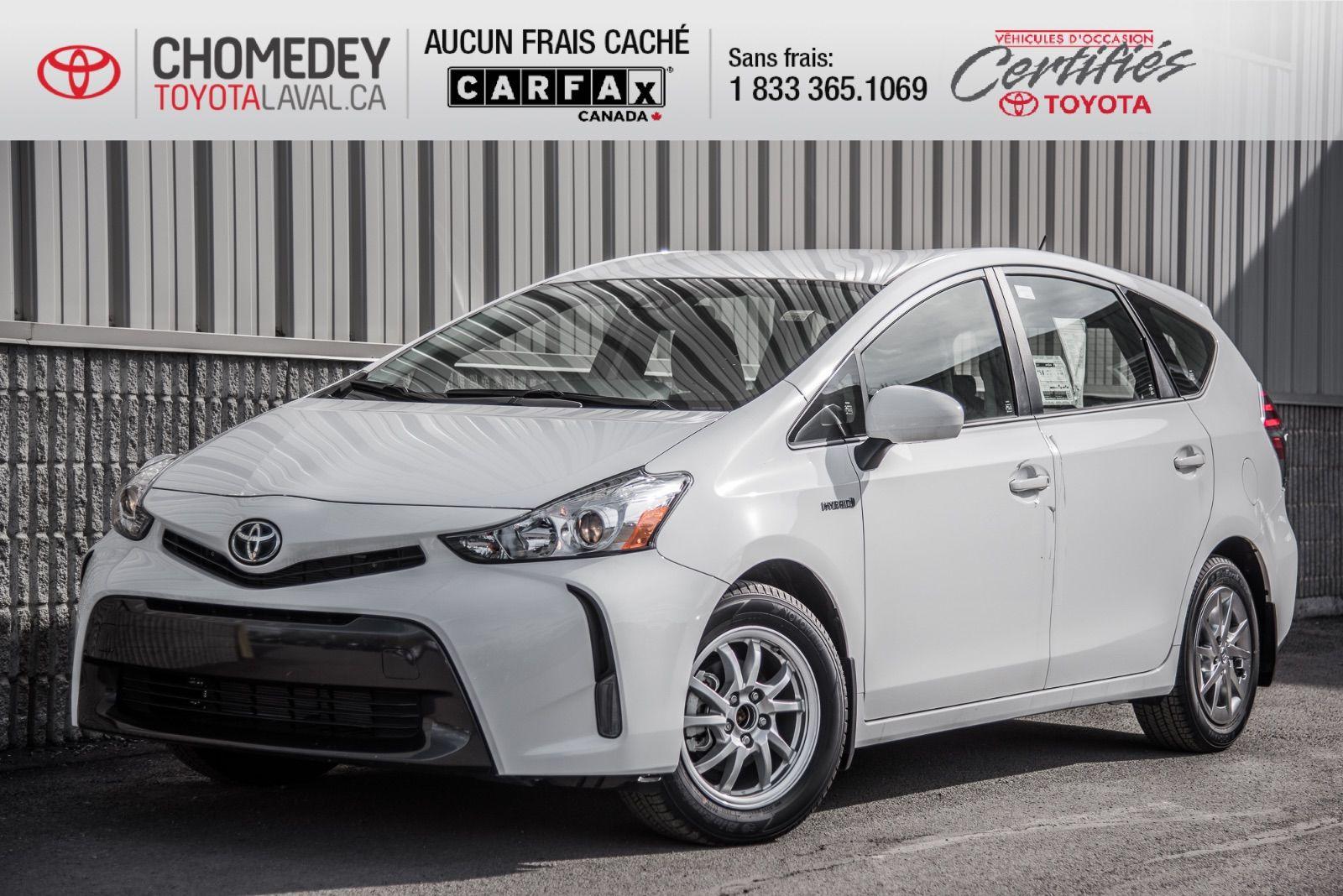 2018 Toyota Prius V >> New 2018 Toyota Prius V For Sale 29499 0 Chomedey
