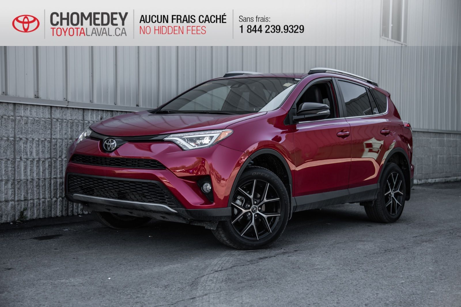 Used 2017 Toyota Rav4 Se Awd 352240 Chomedey Laval Corolla Door Lock Parts Diagram Moreover R