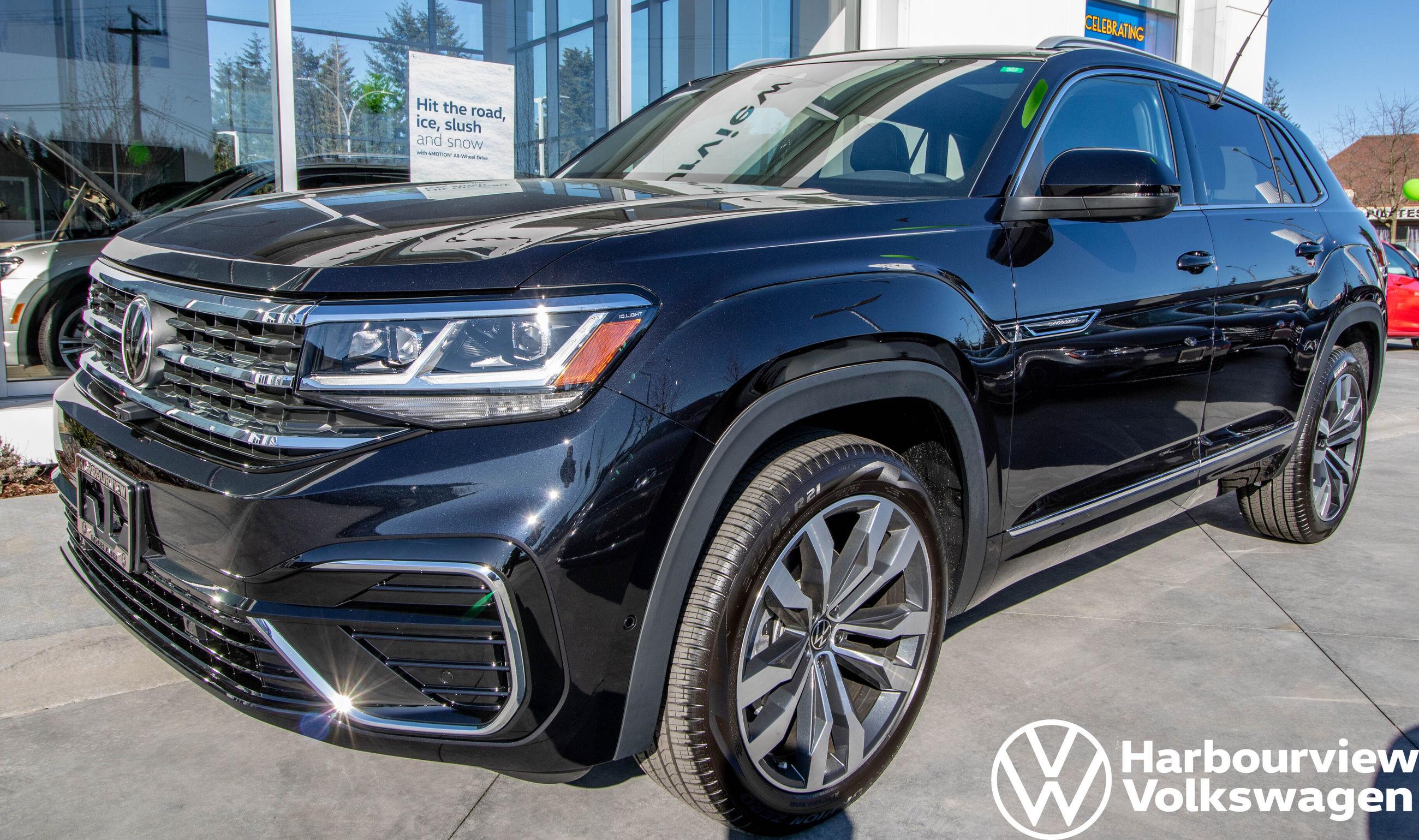 New 2020 Volkswagen Atlas Cross Sport Execline 3 6l W R Line Advanced Driver Asst Pk For Sale 59065 Harbourview Vw