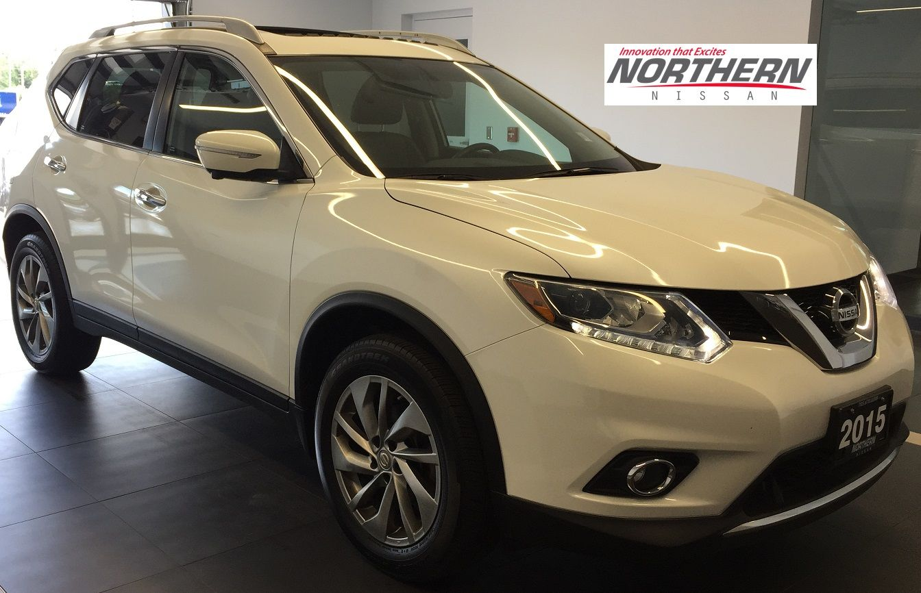 used 2015 nissan rogue sl awd in sudbury 9227a. Black Bedroom Furniture Sets. Home Design Ideas