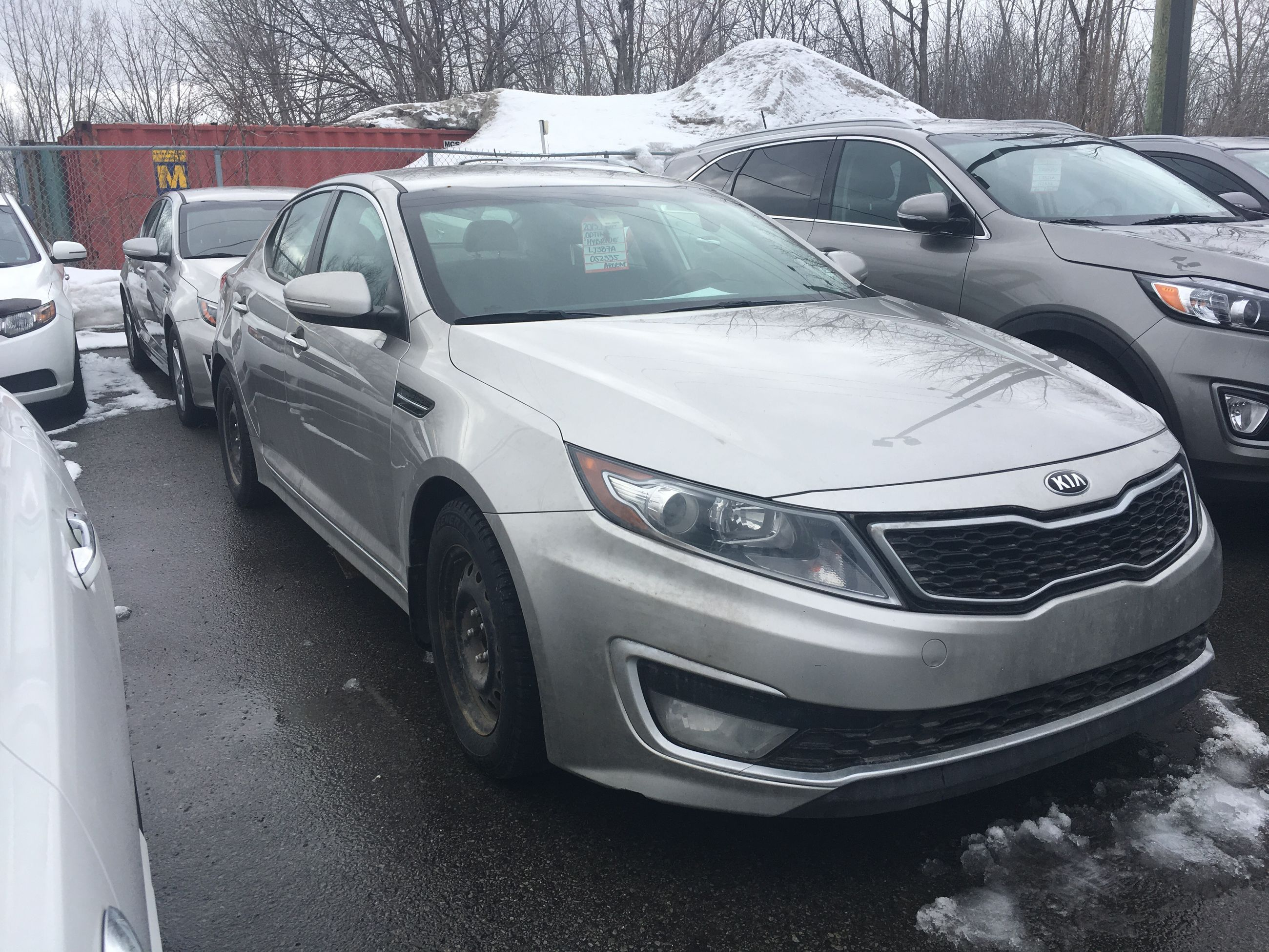 optima hybrid lx for owner carfax sale certified ex carsforsale exterior car used kia gdi full