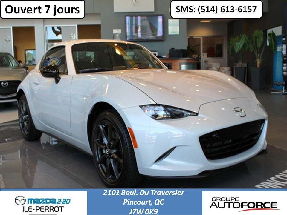 mazda mx 5 rf gs gs 2017 neuf vendre 39995 0 mazda. Black Bedroom Furniture Sets. Home Design Ideas