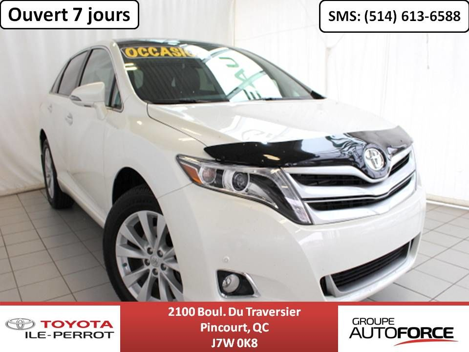 Toyota Venza 2016 >> 2016 Toyota Venza Liquidation Limited Awd Gps Cuir Toit Pano