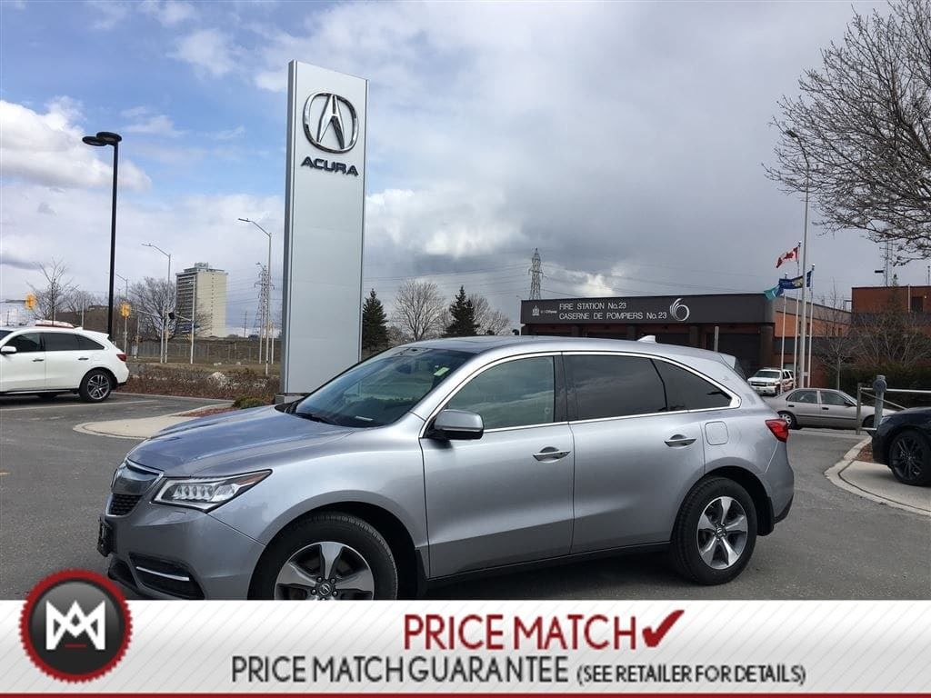 Pre Owned 2016 Acura Mdx Awd Leather Roof 7 Seater In