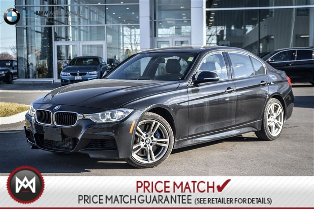 Preowned BMW I M SPORT SUNROOF AWD In Ontario Used - 2013 bmw 335i m sport