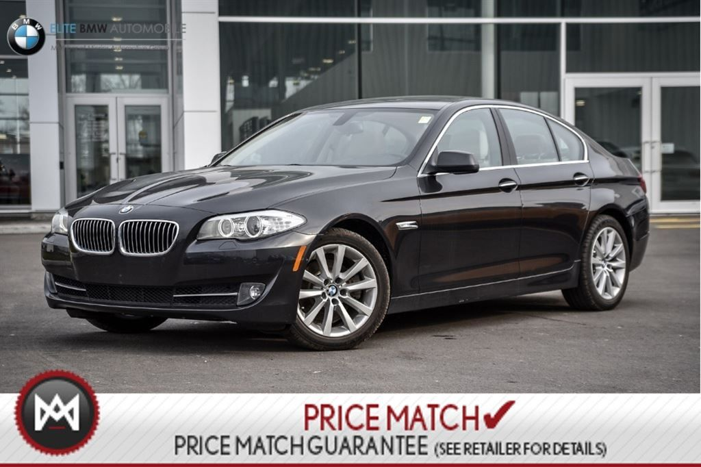 Preowned BMW I PREMIUM NAV AWD In Ontario Used - Bmw 528i 2013 price