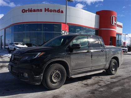 Pre Owned 2017 Honda Ridgeline BLACK EDITION,LEATHER ,NAVIGATION,SUNROOF,  In Orléans   Used Inventory   Orléans Honda In Orléans