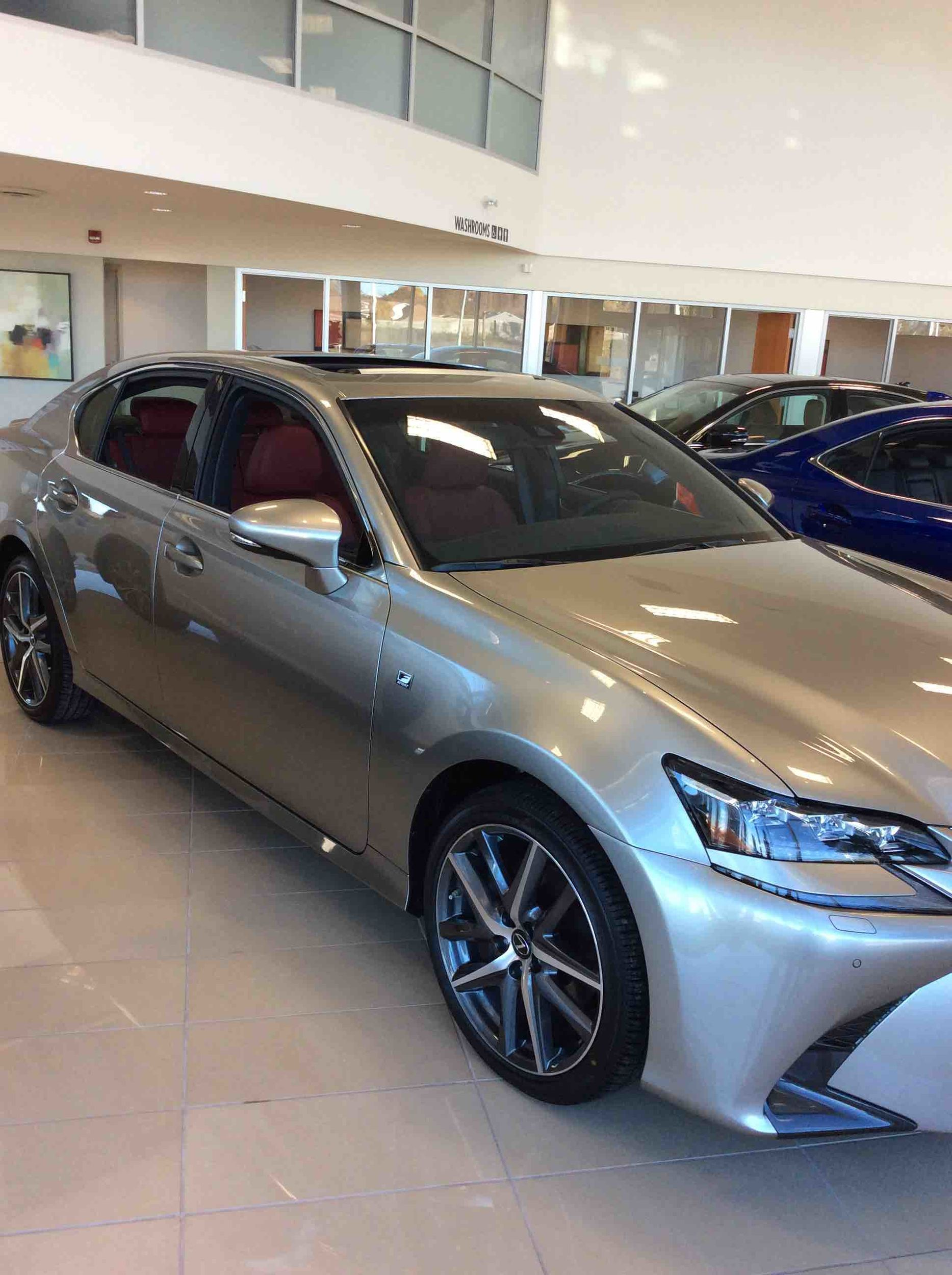 new 2017 lexus gs350 awd 6a for sale in kingston lexus of kingston in kingston. Black Bedroom Furniture Sets. Home Design Ideas