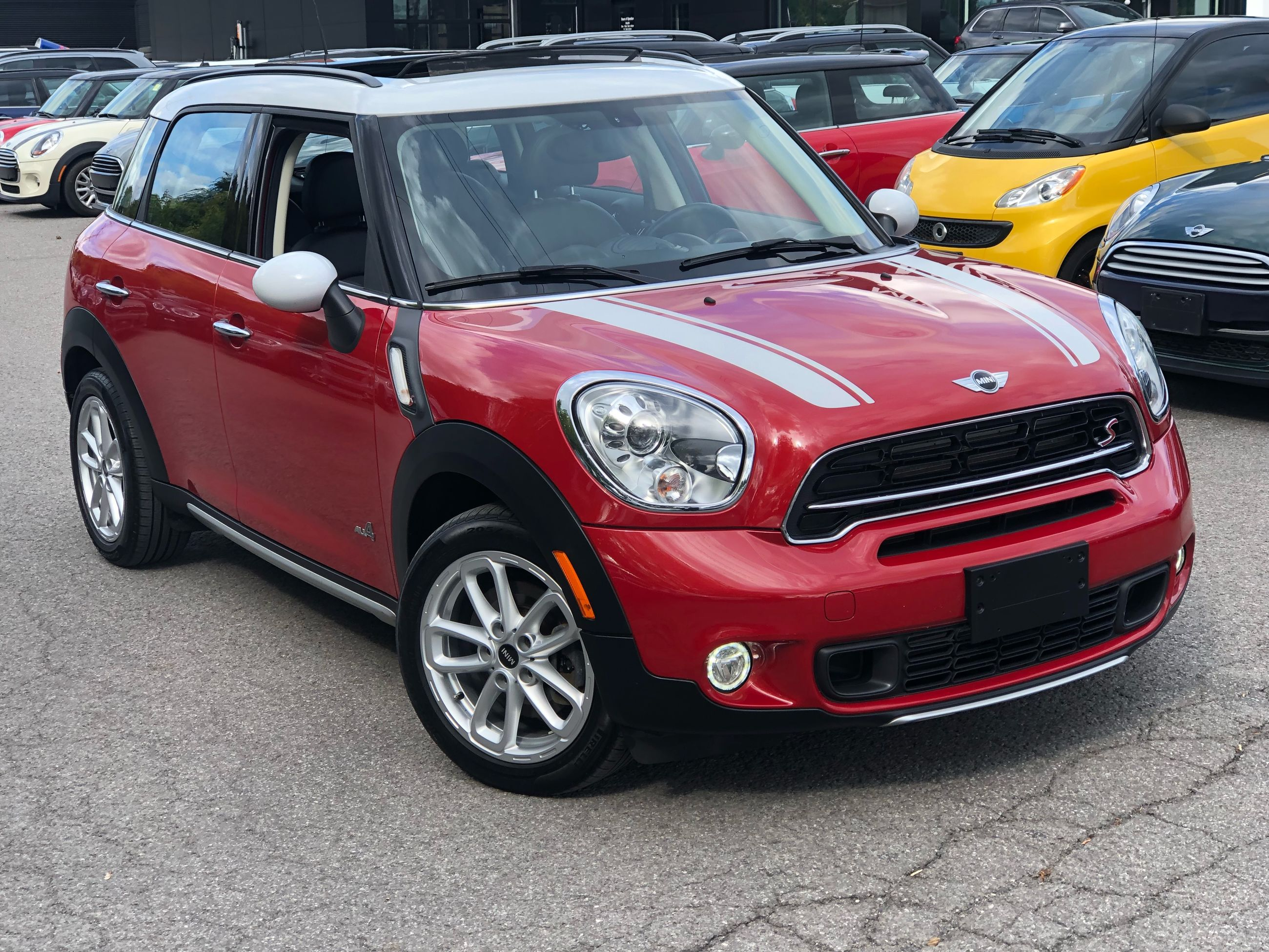 Pre Owned 2015 Mini Cooper S Countryman Navigation Keyless Awd 6mt