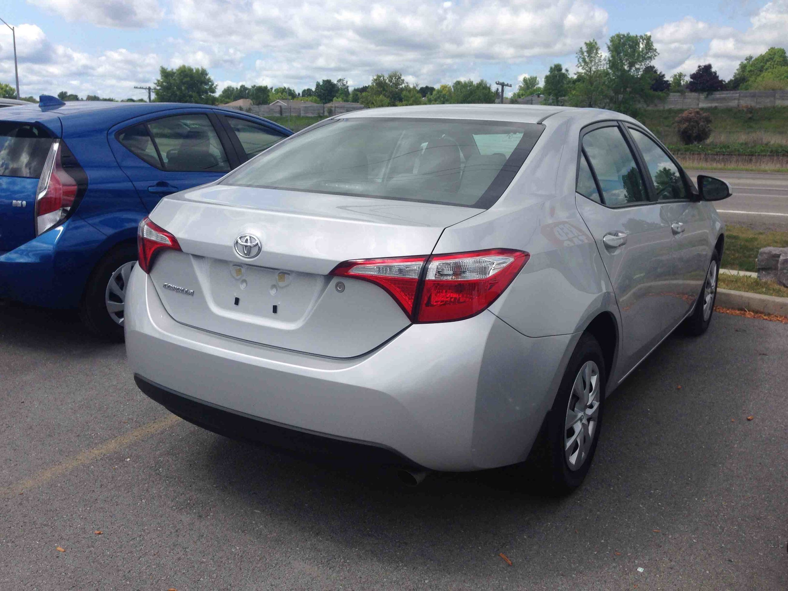 new 2015 toyota corolla 4 door sedan ce 6m for sale in kingston kingston toyota in kingston. Black Bedroom Furniture Sets. Home Design Ideas