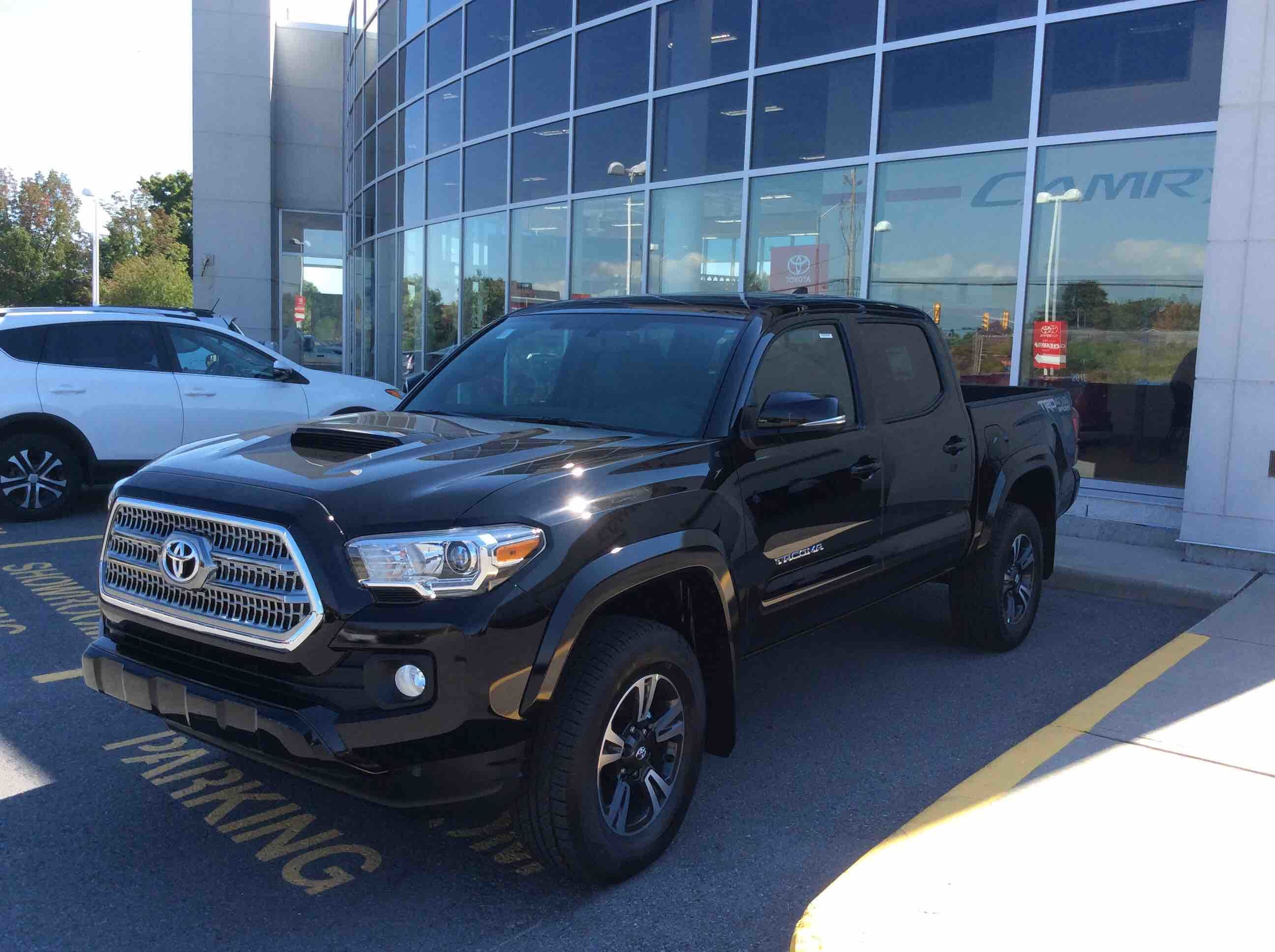 new 2017 toyota tacoma 4x4 double cab v6 trd sport 6m for sale in kingston kingston toyota in. Black Bedroom Furniture Sets. Home Design Ideas