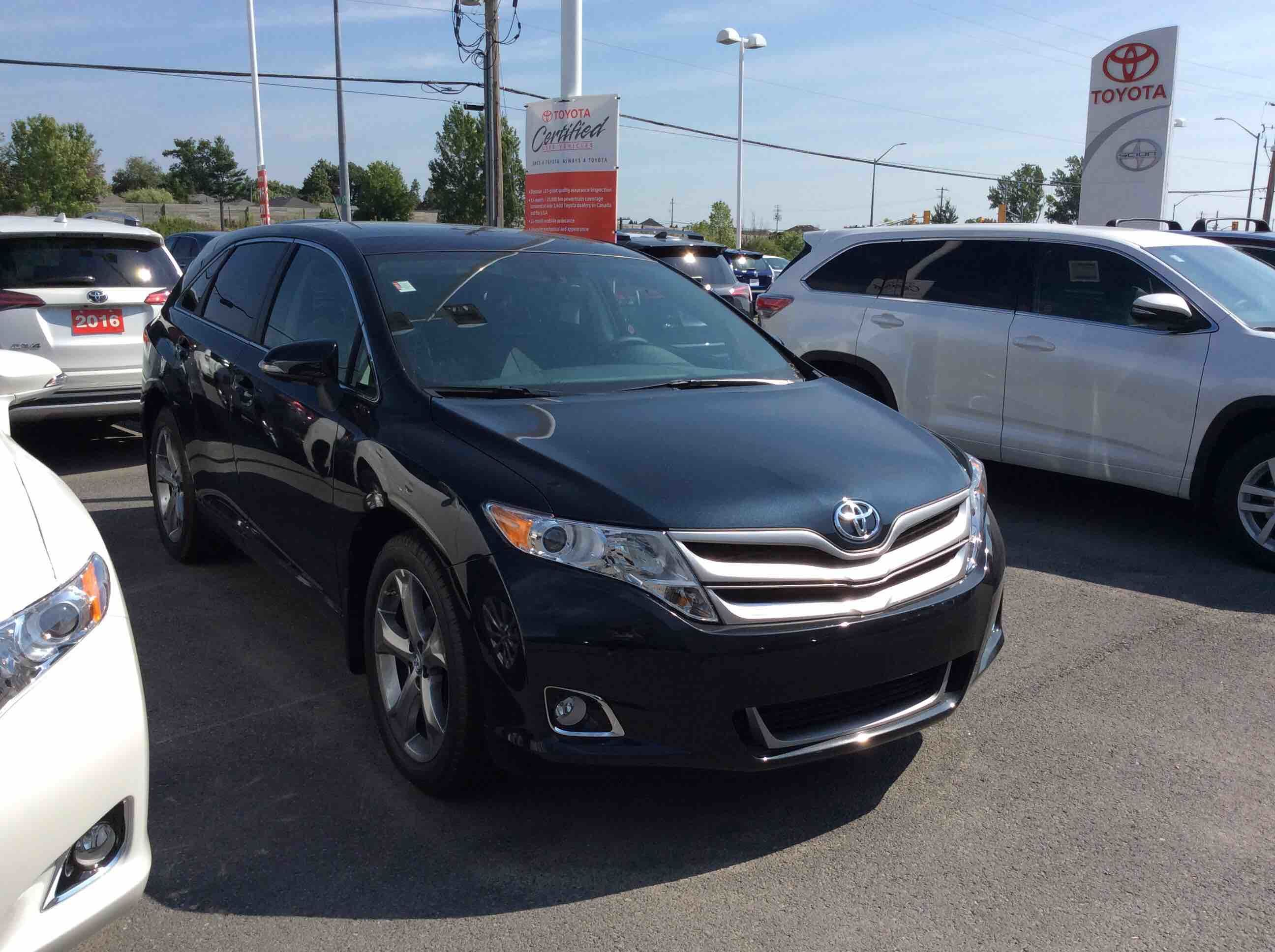 2016 Toyota Venza V6 AWD 6A new for sale in Kingston Kingston Toyota