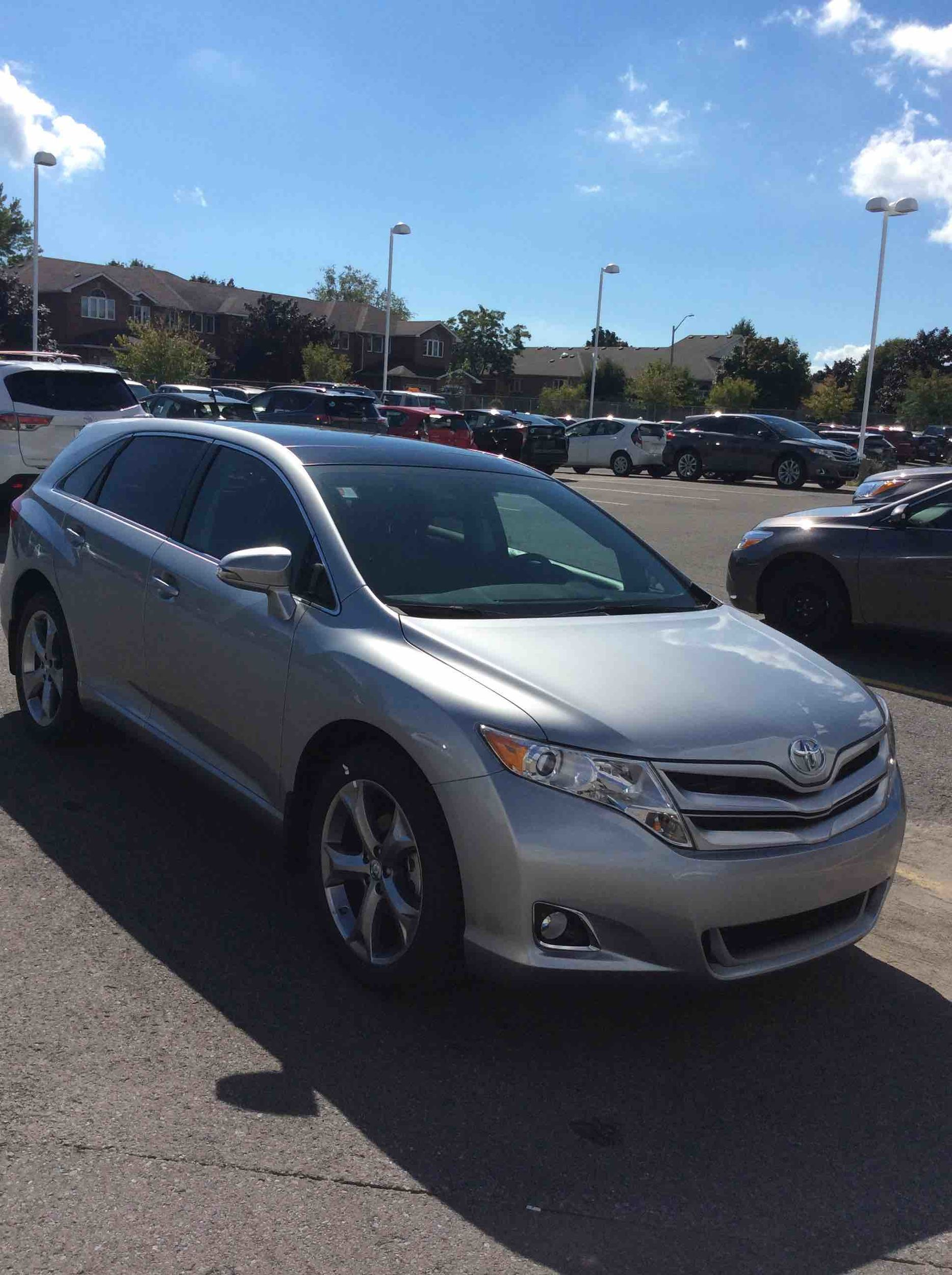 toyota h venza preview news