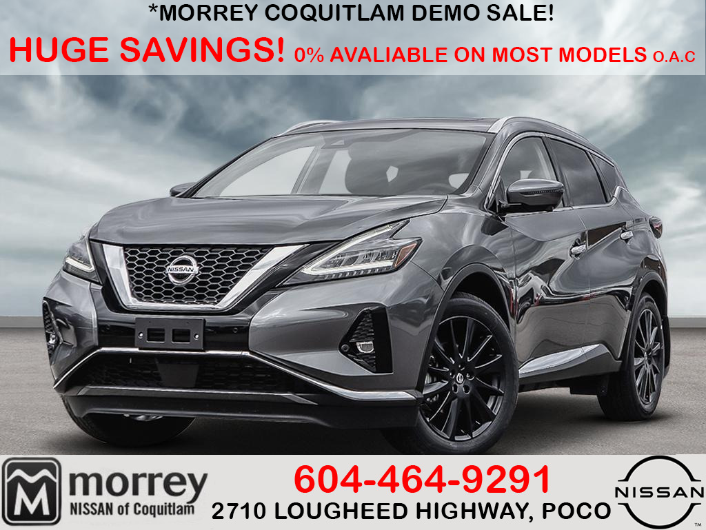 Morrey Auto Group In Burnaby 2020 Murano Limited Edition 39 988