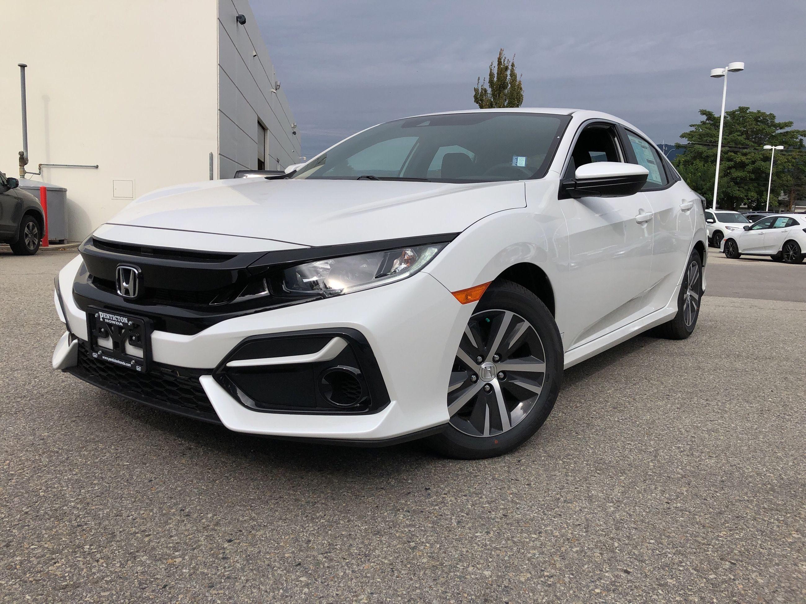 Honda Financing Offers >> Penticton Honda | 2020 Civic Hatchback LX CVT - #H20002