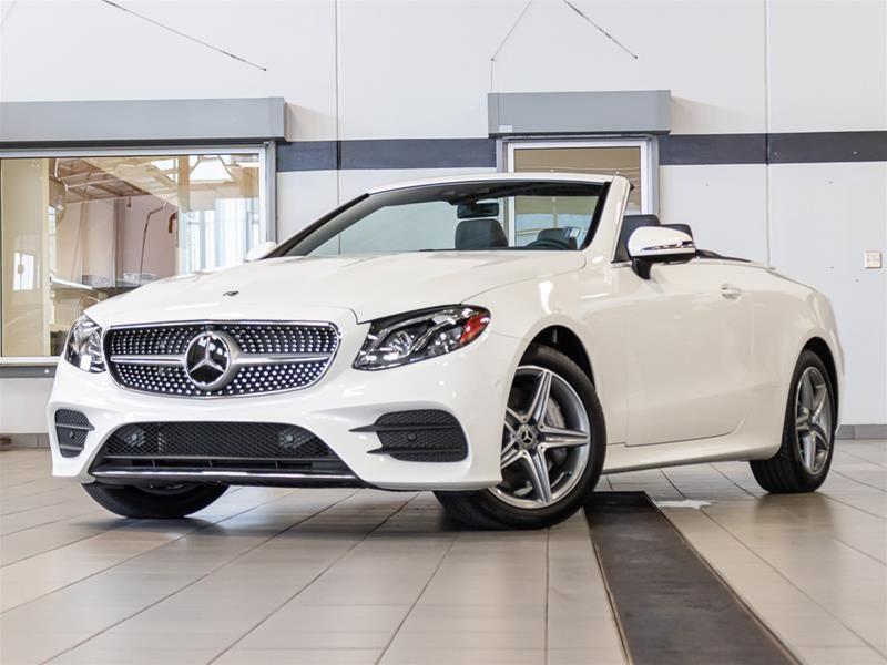 Kelowna Mercedes-Benz | New 2019 Mercedes-Benz E450 4MATIC Cabriolet for sale - $89,999