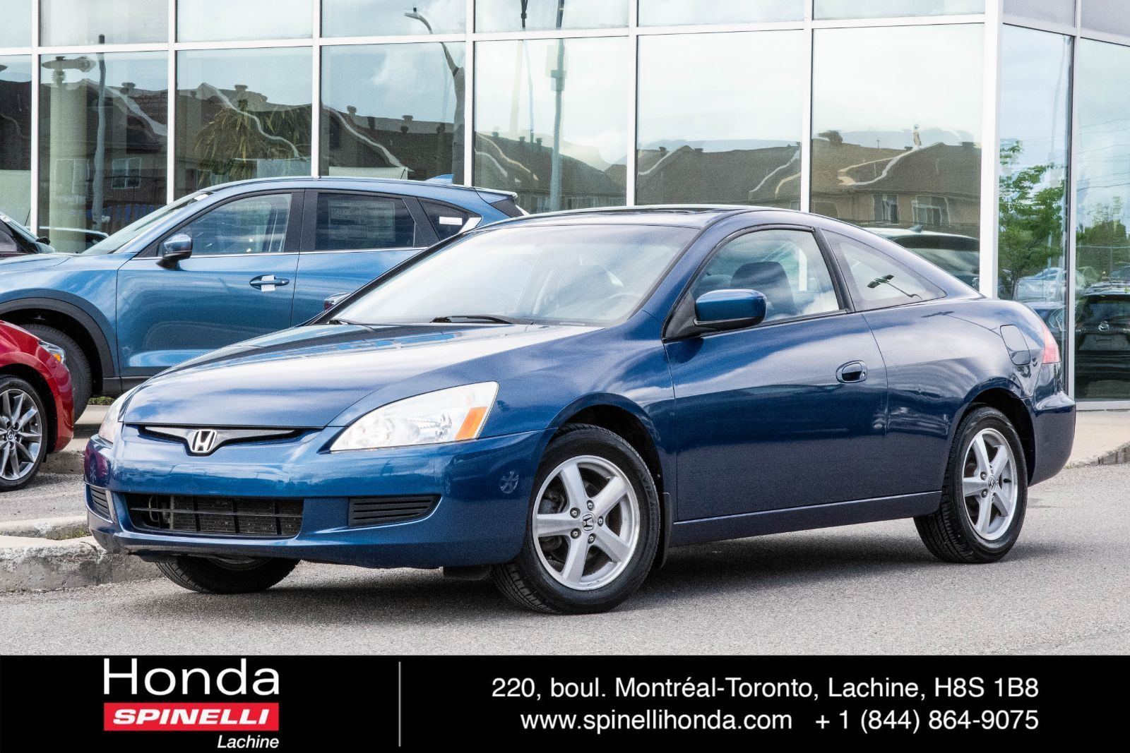 Used 2003 Honda Accord Coupe Deal Pending Ex L Cuir Bas Km For Sale In Montreal 97692a Spinelli Honda Lachine