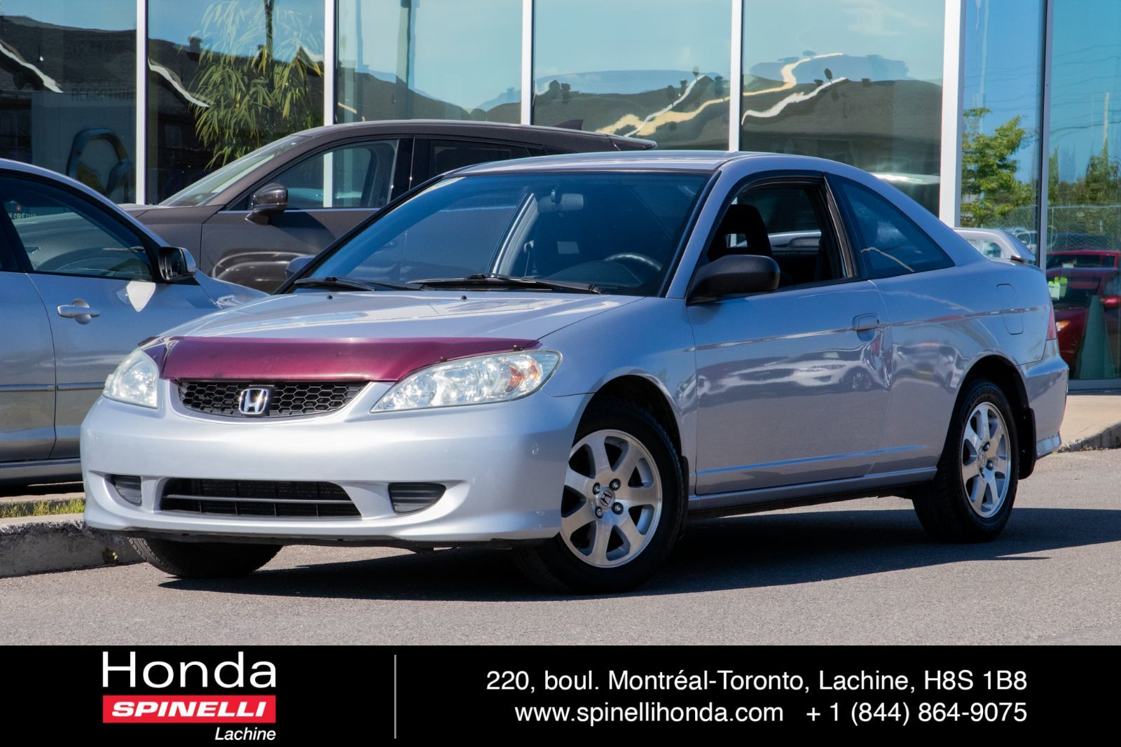 Used 2004 Honda Civic Coupe Lx Manuelle Tel Quel For Sale In Montreal H181093a Spinelli Honda Lachine