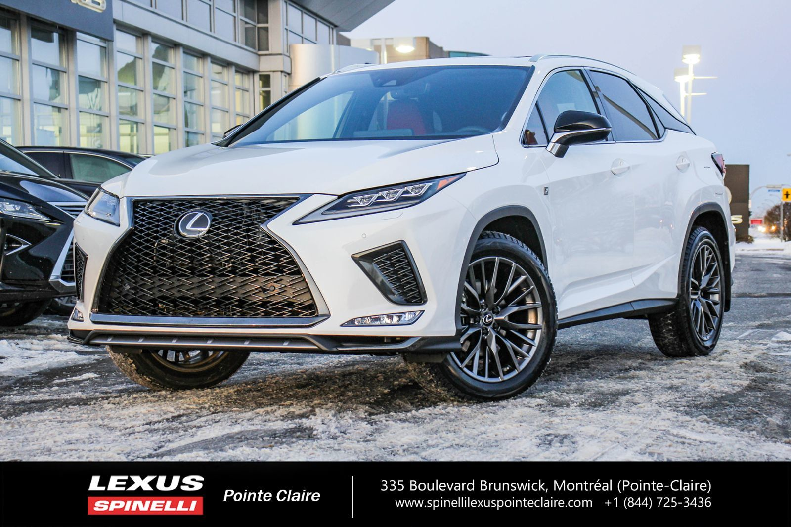Used 2020 Lexus Rx 350 F Sport Navigation Package In Montreal Laval And South Shore Demo 20l112