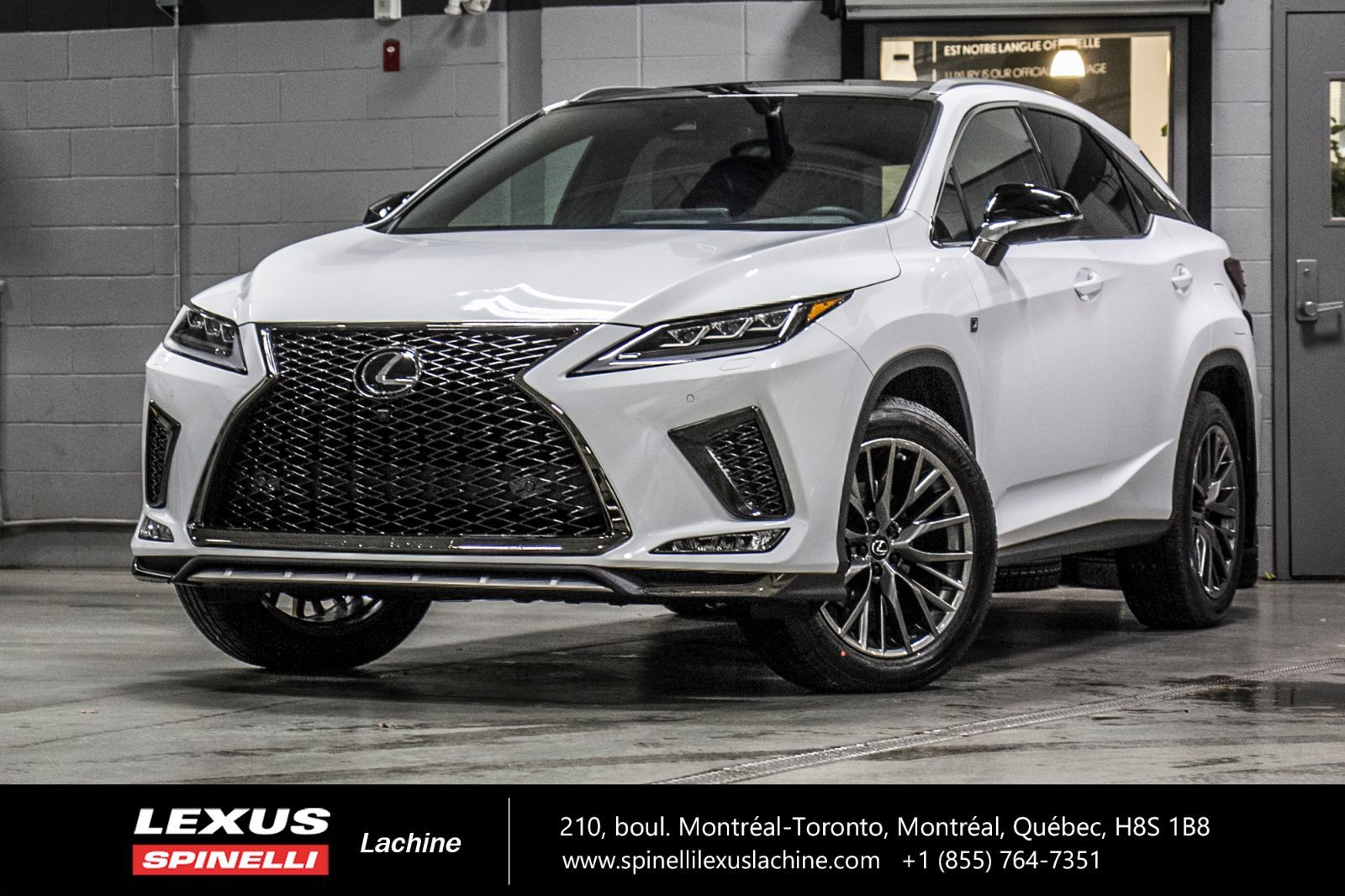 Used 2020 Lexus Rx 350 F Sport Iii Awd Cuir Toit Camera Pano Gps Carplay In Montreal Laval And South Shore Demo 20tl400