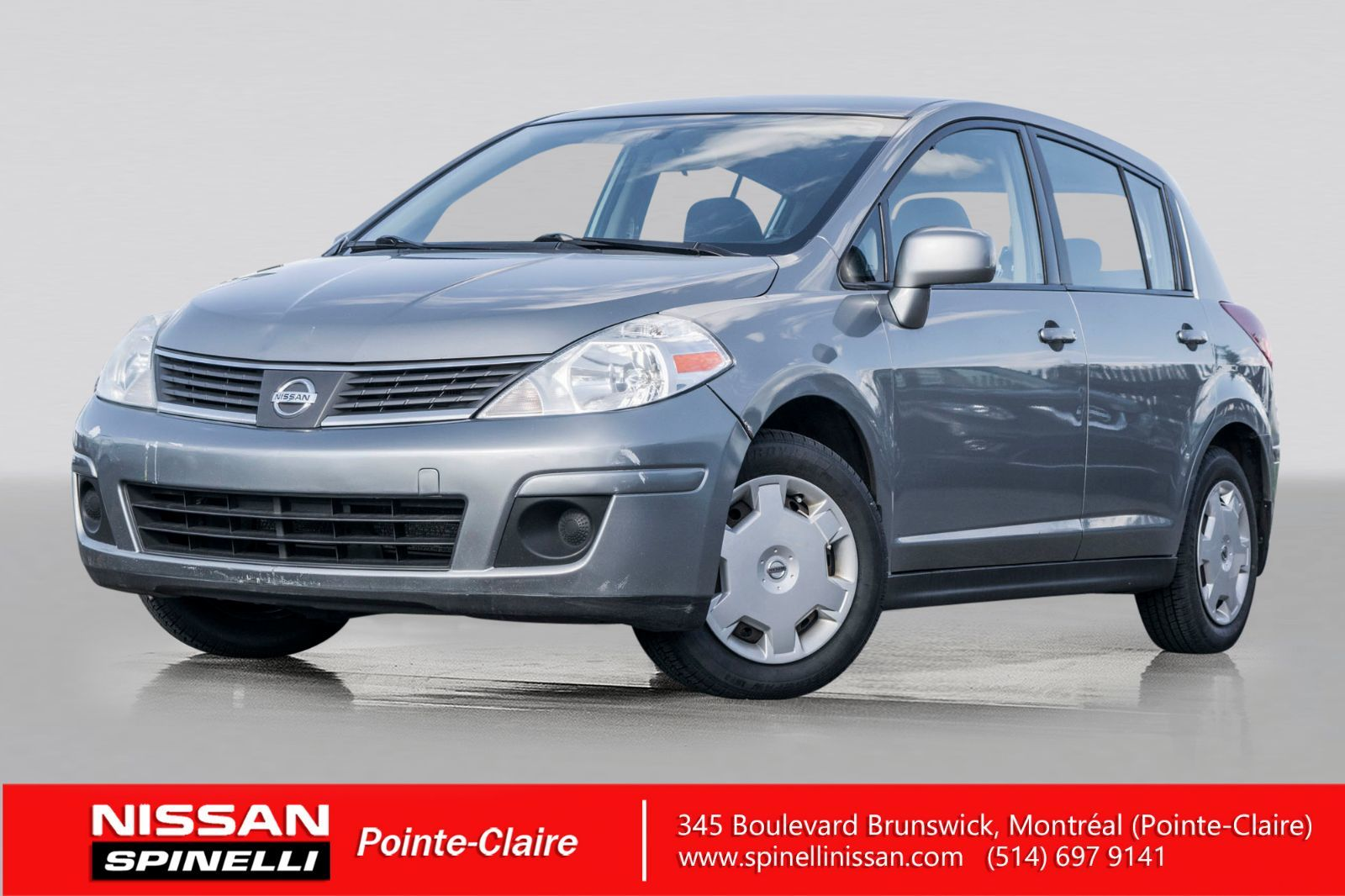 Used 2009 Nissan Versa S In Montreal Laval And South Shore P7848a