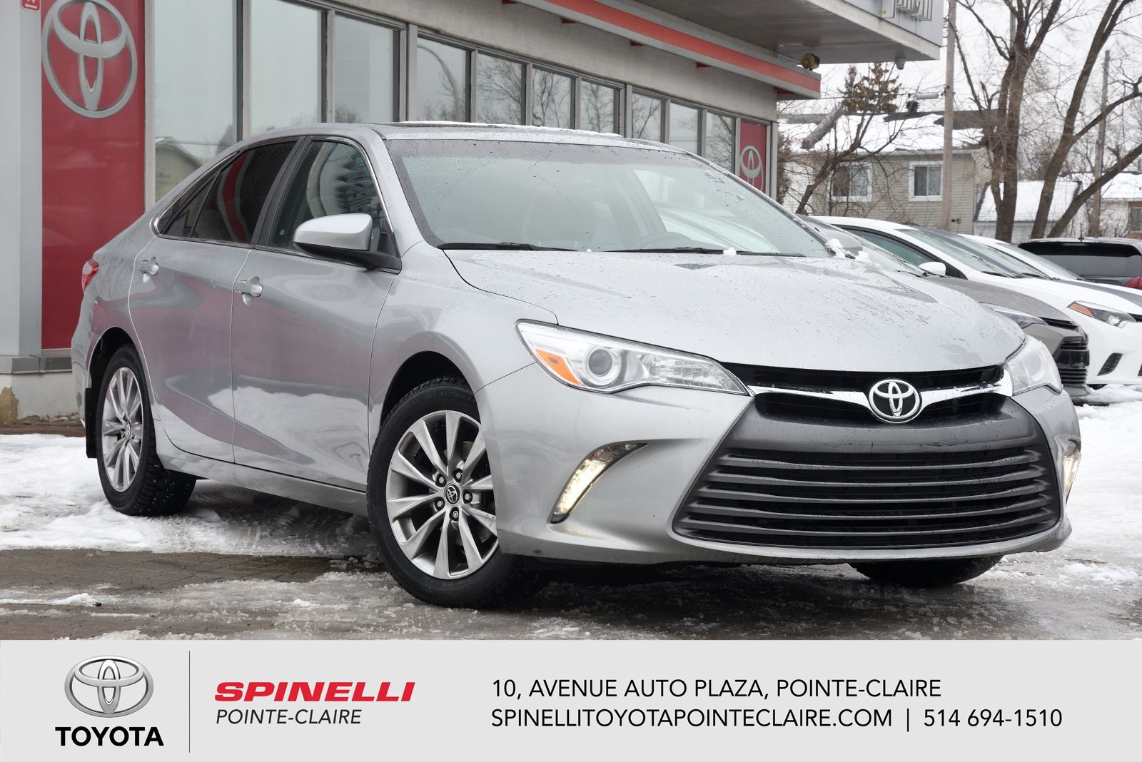 Used 2015 Toyota Camry Xle For Sale In Montreal P15685 Spinelli Toyota Pointe Claire