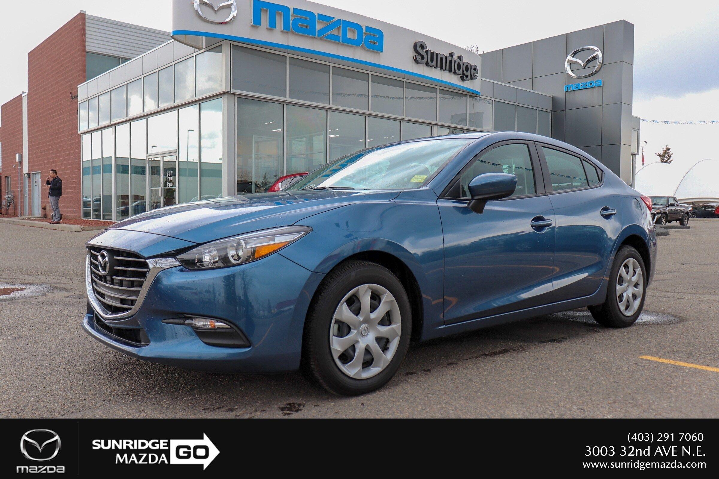 Sunridge Mazda | Pre-owned 2018 Mazda3 GX Convenience