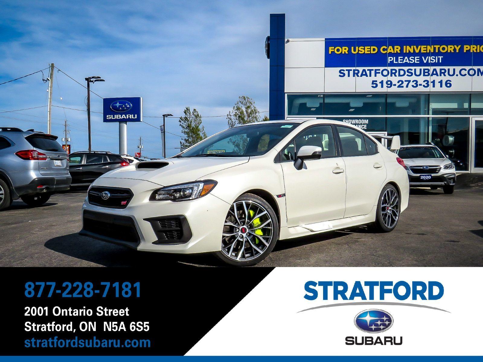 Stratford Subaru | 2020 WRX STI Sport-tech - 49354 0$ | S982