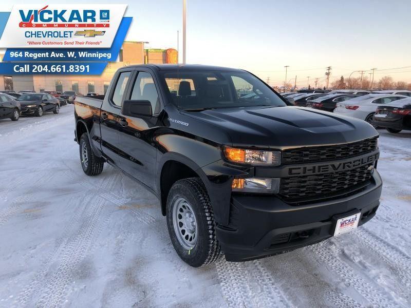 New 2019 Chevrolet Silverado 1500 Work Truck Cruise Control Black For Sale 35790 0