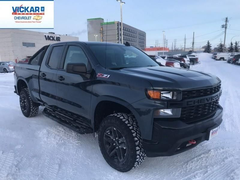 Used Cars For Sale In Winnipeg >> New 2019 Chevrolet Silverado 1500 Custom Trail Boss Grey for sale - $47155.0 | #KT1722 | Vickar ...