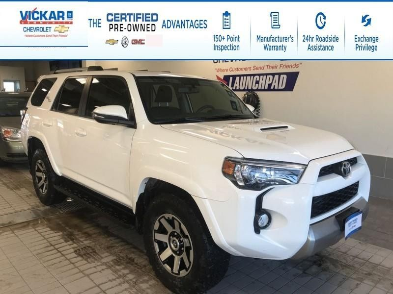 Used 2018 Toyota 4runner Sr5 Sunroof Navigation Leather Seats 4x4