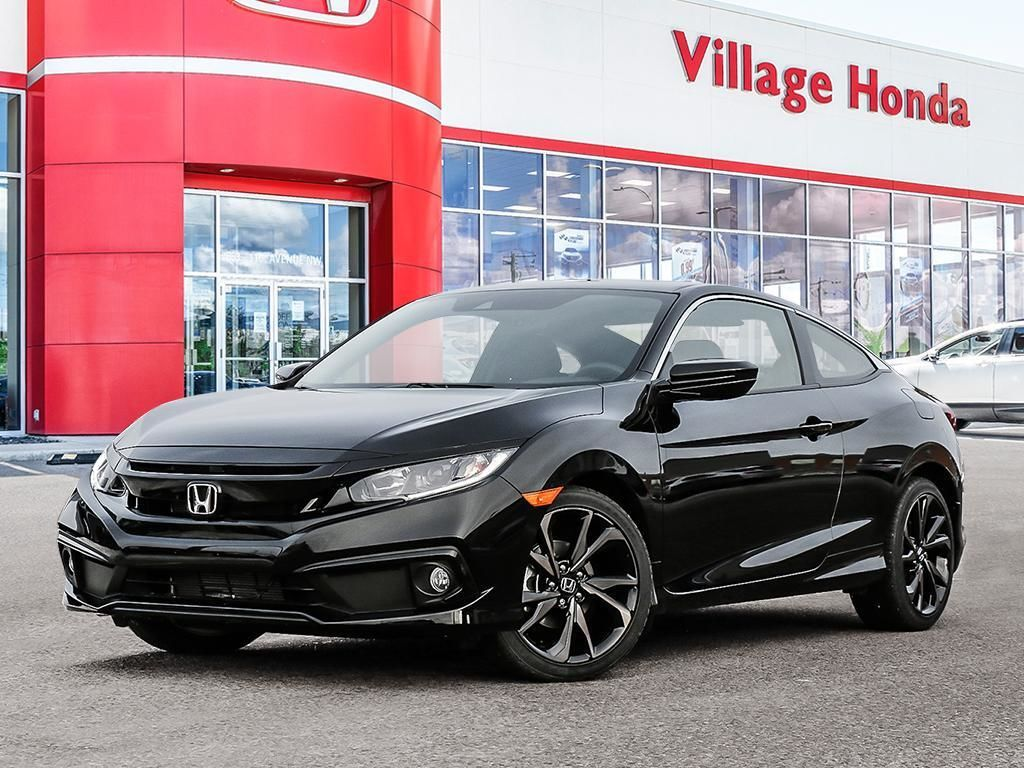 Village Honda In Calgary 2020 Honda Civic Coupe Civic 2d Sport Cvt 28 509