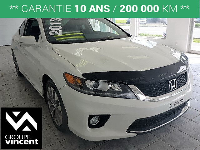 honda accord ex l coup navigation 2013 d 39 occasion shawinigan avantage honda k1811h v. Black Bedroom Furniture Sets. Home Design Ideas