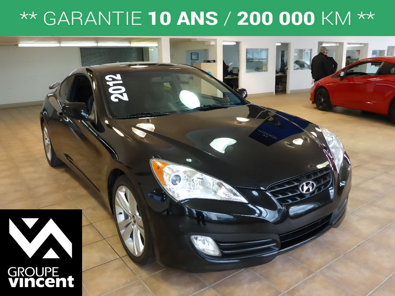 hyundai genesis coupe premium cuir toit 2012 d 39 occasion shawinigan groupe vincent 75083at. Black Bedroom Furniture Sets. Home Design Ideas