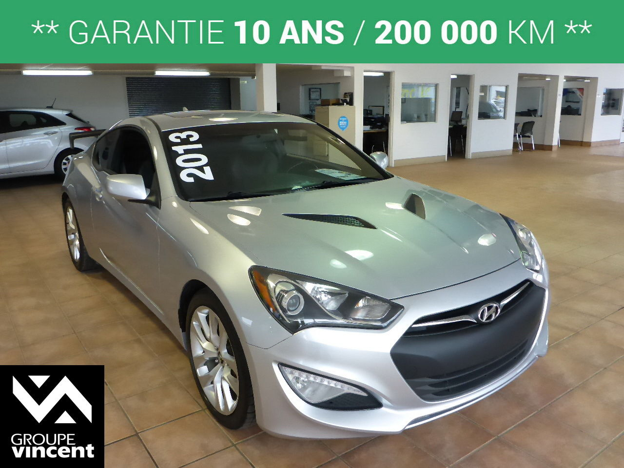 hyundai genesis coupe 2 0t premium 2013 d 39 occasion trois rivi res hyundai trois rivi res 7 287av. Black Bedroom Furniture Sets. Home Design Ideas