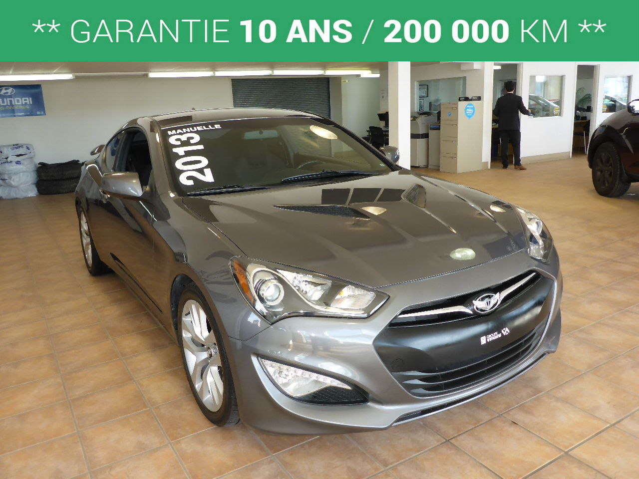 hyundai genesis coupe 2 0t garantie 10 ans 2013 d 39 occasion trois rivi res hyundai trois. Black Bedroom Furniture Sets. Home Design Ideas