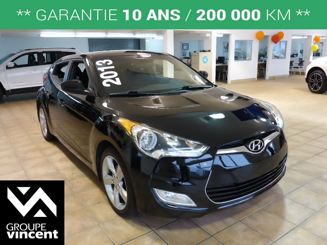 hyundai veloster se mags 2013 d 39 occasion shawinigan groupe vincent 70223bt vfl. Black Bedroom Furniture Sets. Home Design Ideas