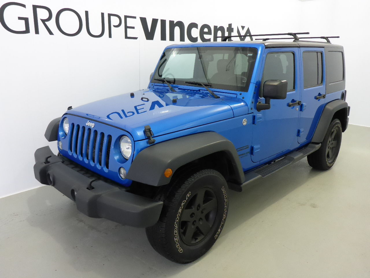jeep wrangler unlimited sport trail rated 4x4 cuir garantie 10ans 2015 d 39 occasion. Black Bedroom Furniture Sets. Home Design Ideas