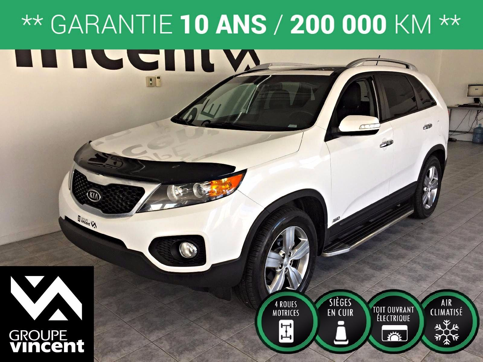 kia sorento ex cam ra de recul 2013 d 39 occasion trois rivi res hyundai trois rivi res a2009s v. Black Bedroom Furniture Sets. Home Design Ideas