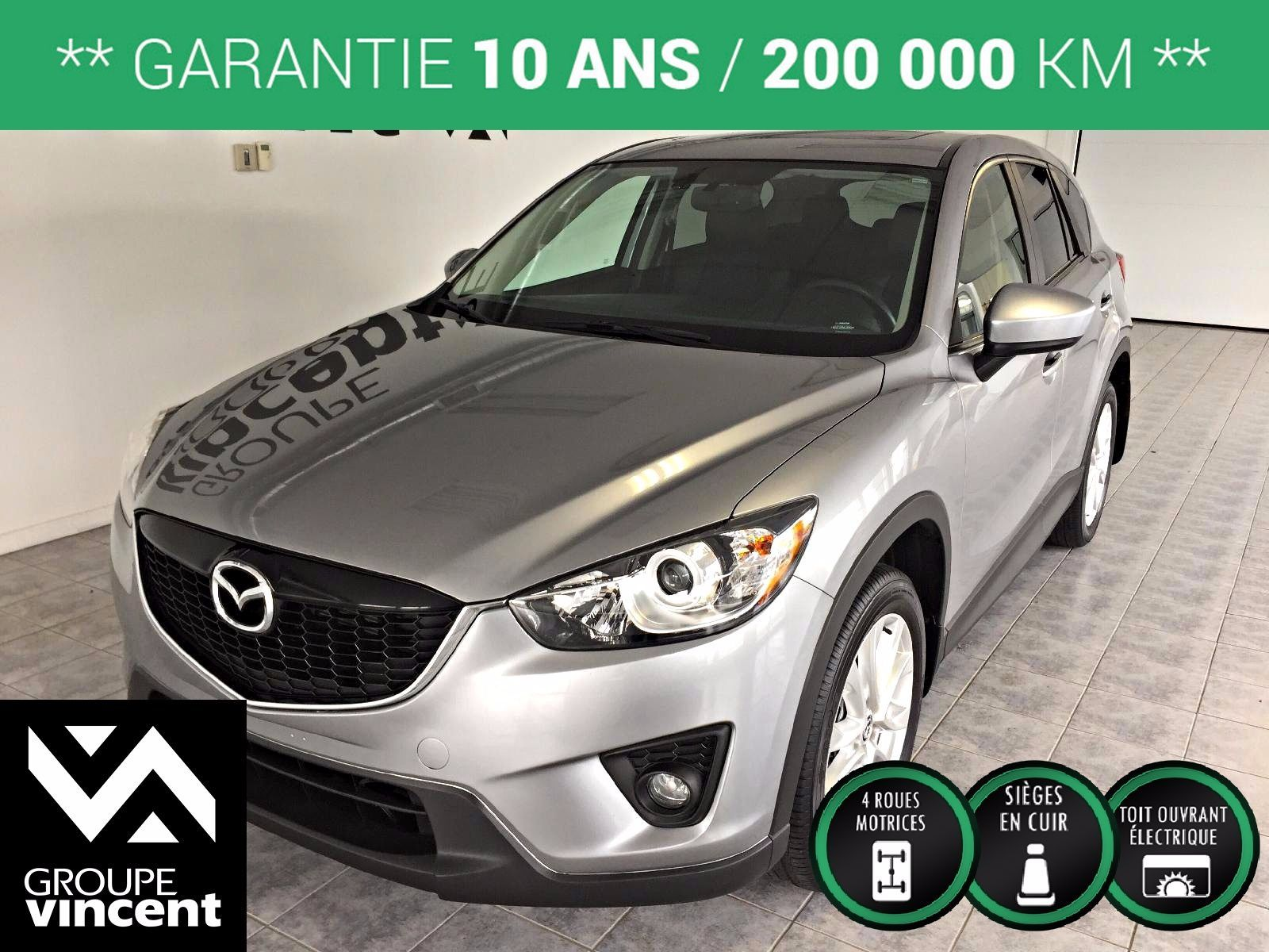 mazda cx 5 gt gps 2014 d 39 occasion shawinigan avantage honda y1697am. Black Bedroom Furniture Sets. Home Design Ideas